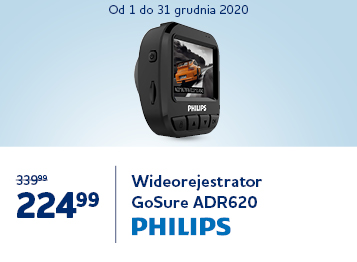 Wideorejestrator Philips GoSure ADR620 tree